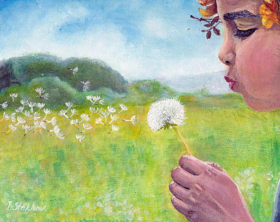 Dandelion Painting - Dandelion by Viktor Stakhov
