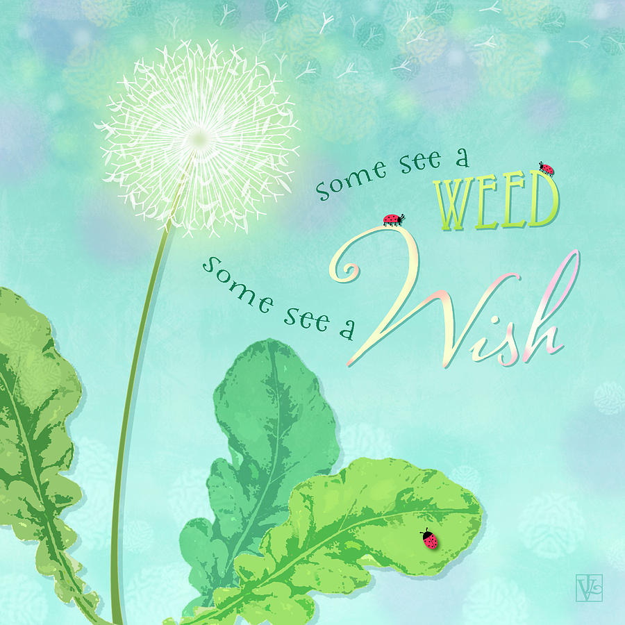 Dandelion Wish by Valerie Drake Lesiak