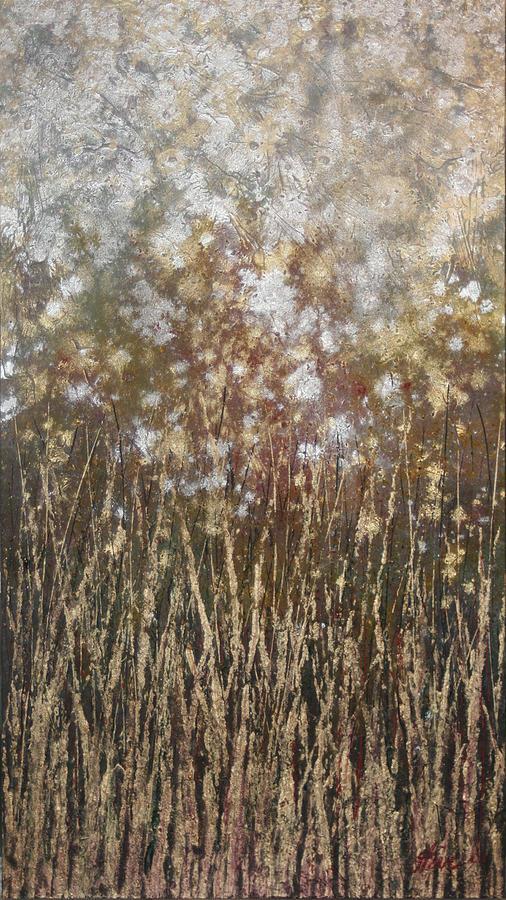 Dandelions Painting - Dandelions by Steve Ellis