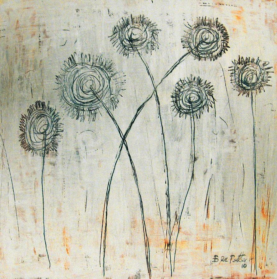 Dandilions Painting - Dandies by Ben Potter