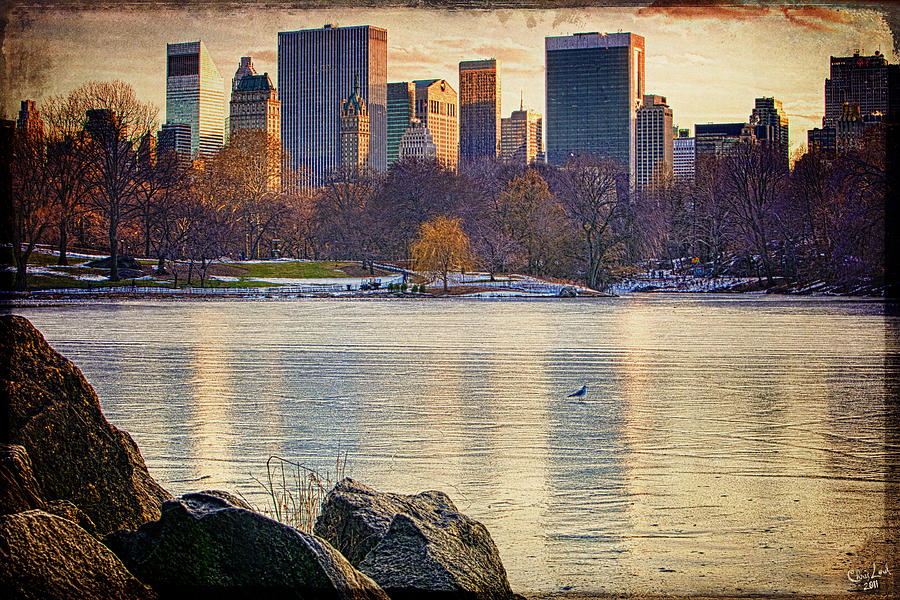 Central Park Photograph - Danger - Thin Ice by Chris Lord