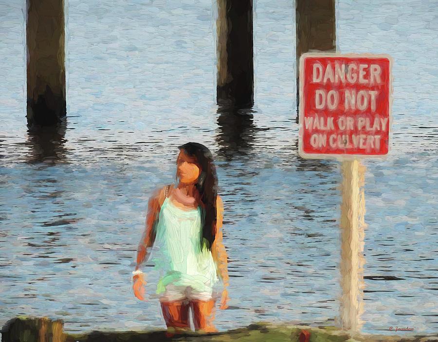 Danger by Cathy Jourdan