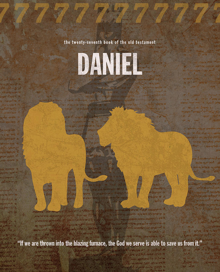 an analysis of the book of daniel in the old testament The book of daniel is a biblical apocalypse, combining a prophecy of history with an eschatology (the study of last things) old testament: succeeded by hosea.