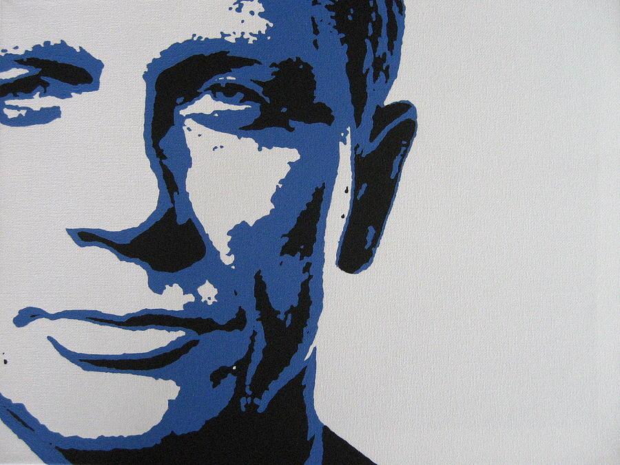 Daniel Craig Painting - Daniel Craig by Dan Carman