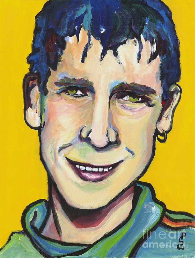 Portrait Painting - Daniel by Pat Saunders-White