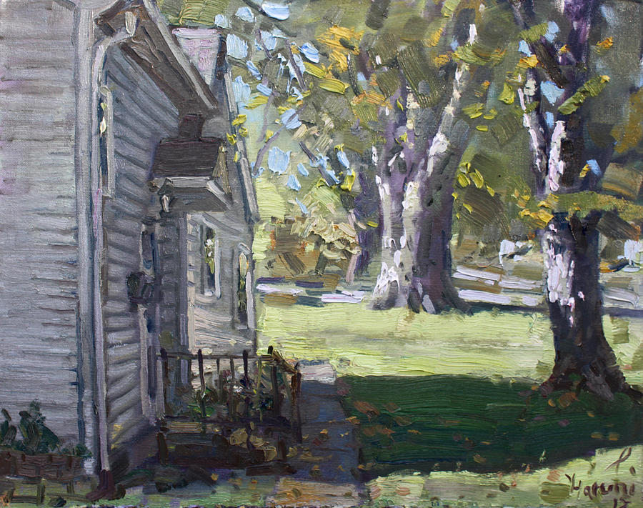 Bloomington Painting - Daniels House In Bloomington Mn by Ylli Haruni