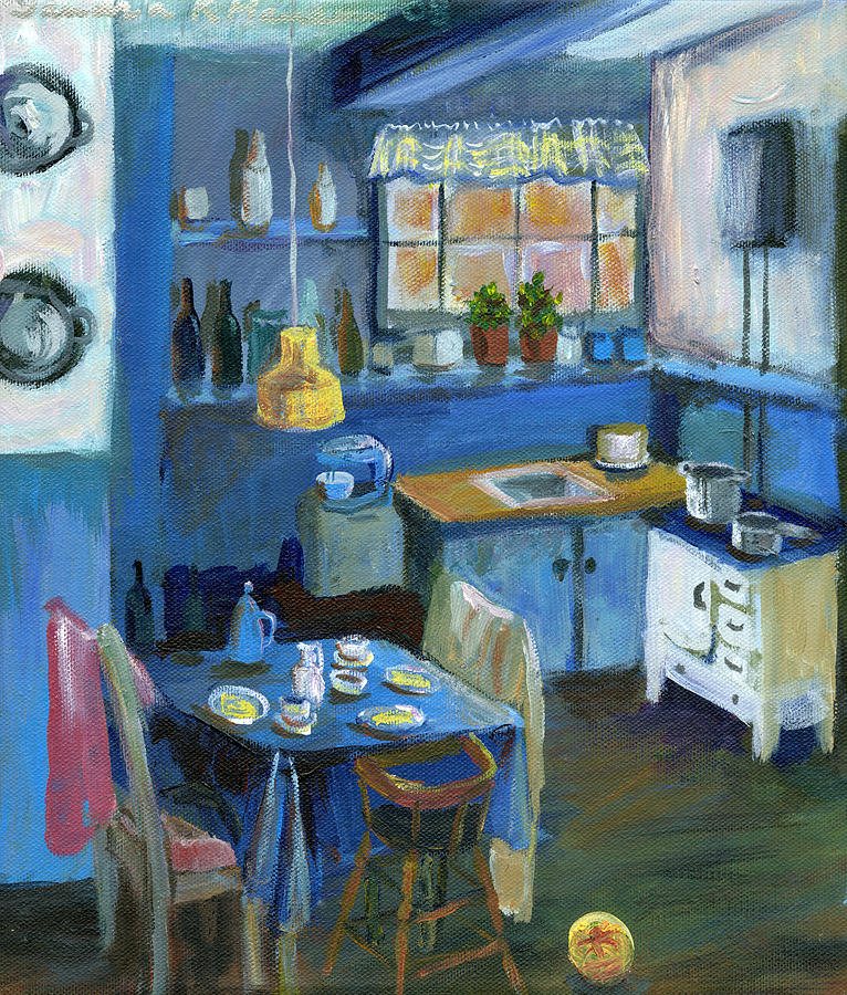 Kitchen Paintings Images