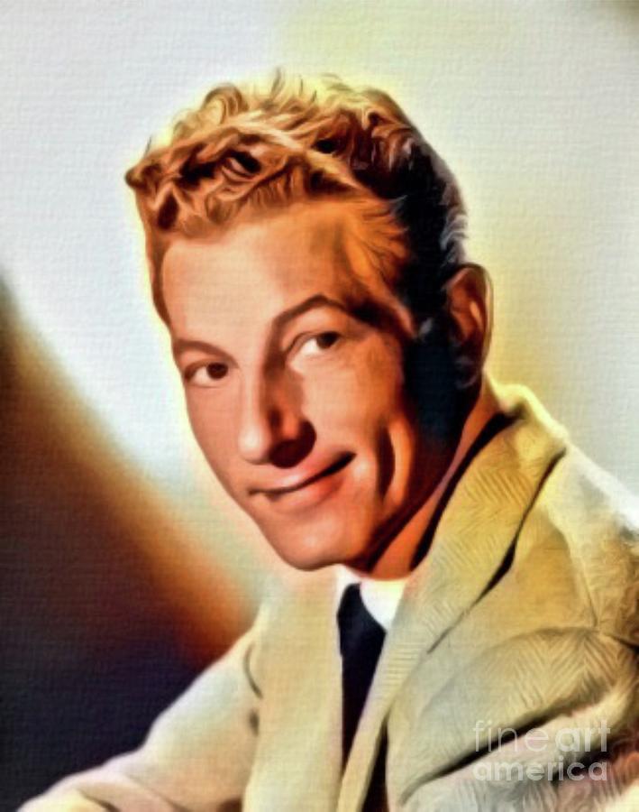 Danny Kaye, Hollywood Legend. Digital Art By Mb Digital Art