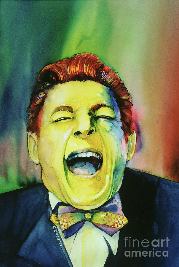 Danny Kaye - laughter by Rob Corsetti