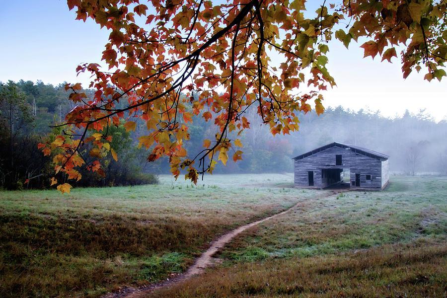 Appalachia Photograph - Dans Barn by Lana Trussell
