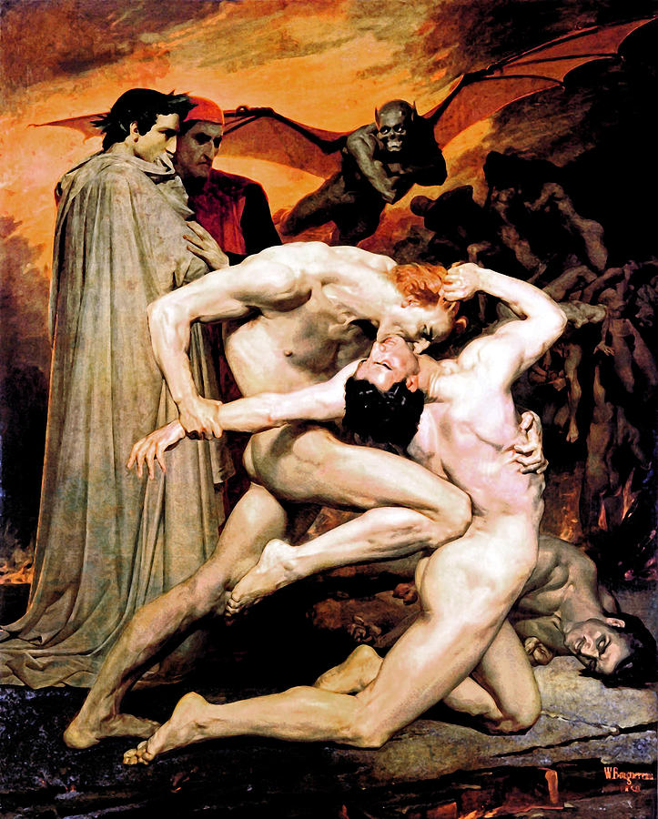 Entertaining Dante and virgil in hell