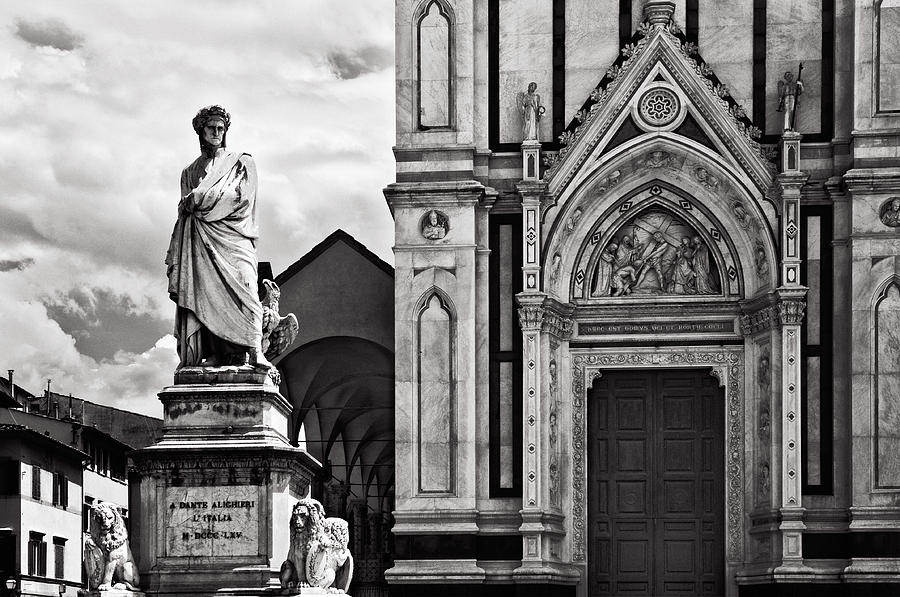 Dante Photograph - Dante At The Church by Mick Burkey