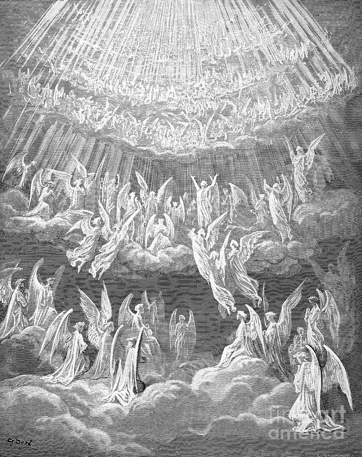 Alighieri Photograph - Dante: Paradise by Granger