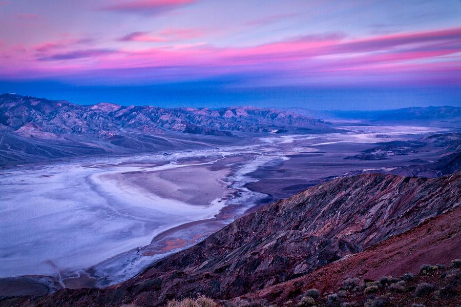 Dante 39 s view dawn death valley photograph by stuart litoff for 1161 dawn view terrace