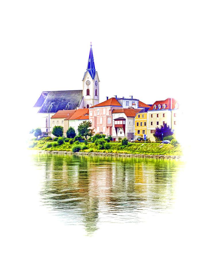 Europe Photograph - Danube Village by Dennis Cox