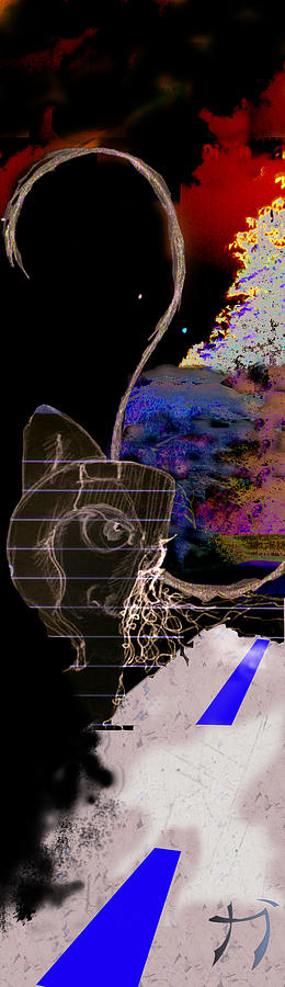 Danza Digital Art by Carlos Paredes