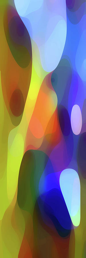 Bold Digital Art - Dappled Light Panoramic Vertical by Amy Vangsgard