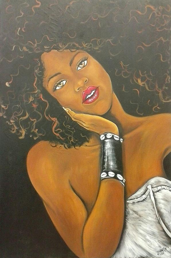 African American Woman Painting - Dare To Be Different by Jenny Pickens