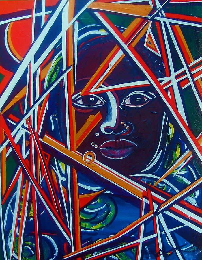 Darfur Painting - Darfur - Lady Hope by Valerie Wolf