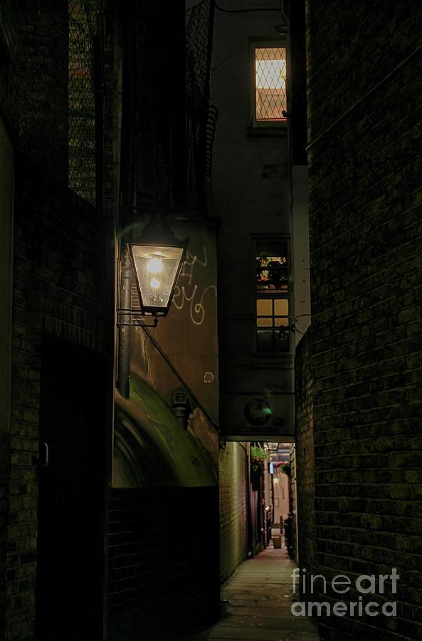 Dark Alley London by Jasna Buncic