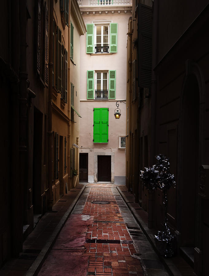 Alley Photograph - Dark And Light by Cecil Fuselier