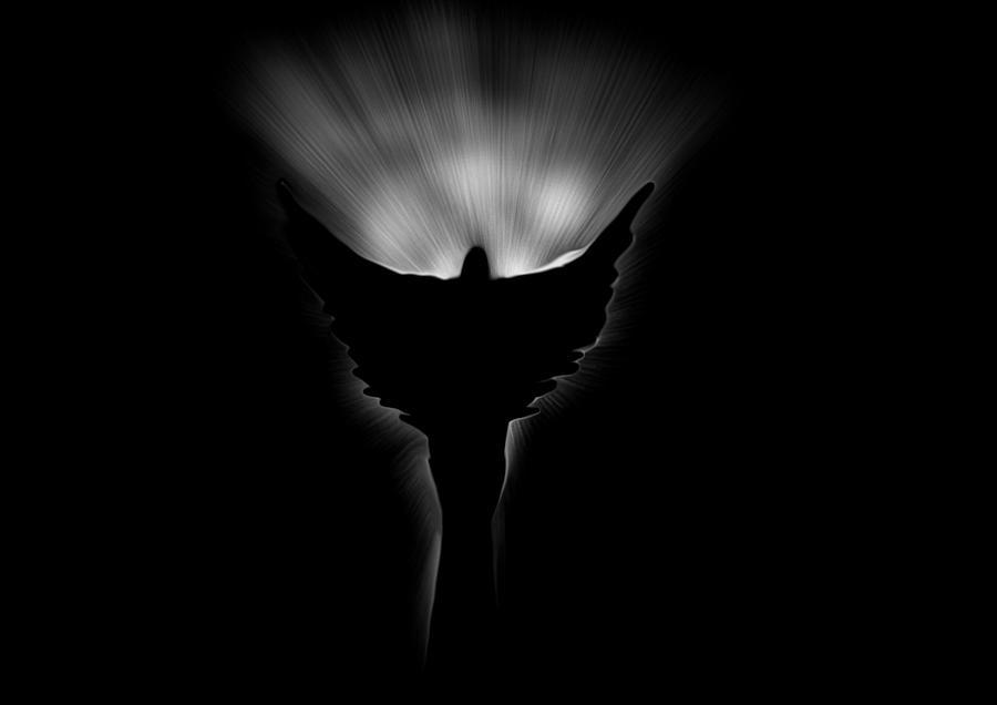 Dark Angel Digital Art by Marcelo Macedo Flores Macedo