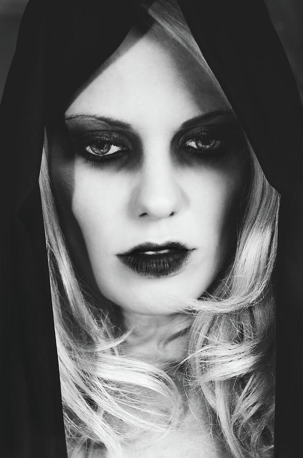 Dark Photograph - Dark Beauty  by Sotiris Filippou