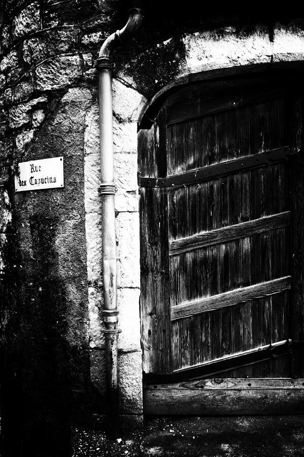 Dark Door Photograph - Dark Door by Georgia Fowler