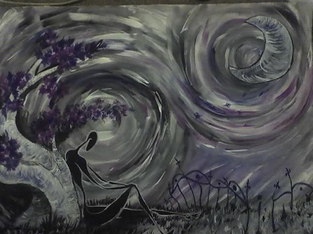 Dream Painting - Dark Dream by Christiano Torres