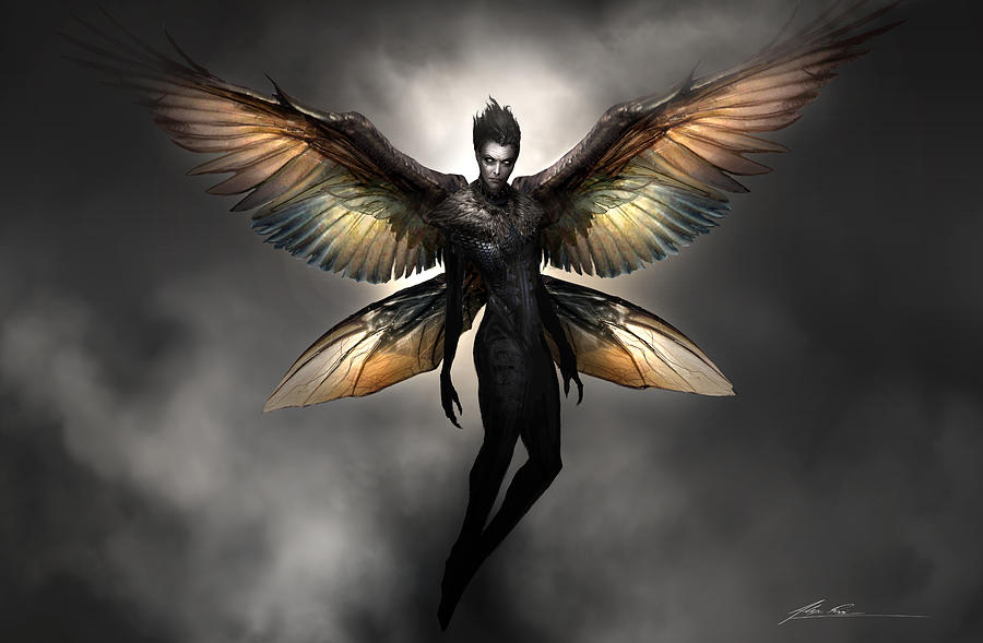 Dark Fairy Digital Art
