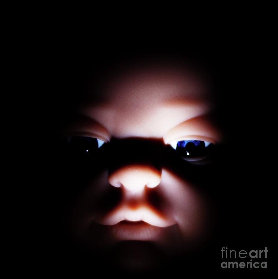 Baby Photograph - Dark Innocence by Lewis Bonner