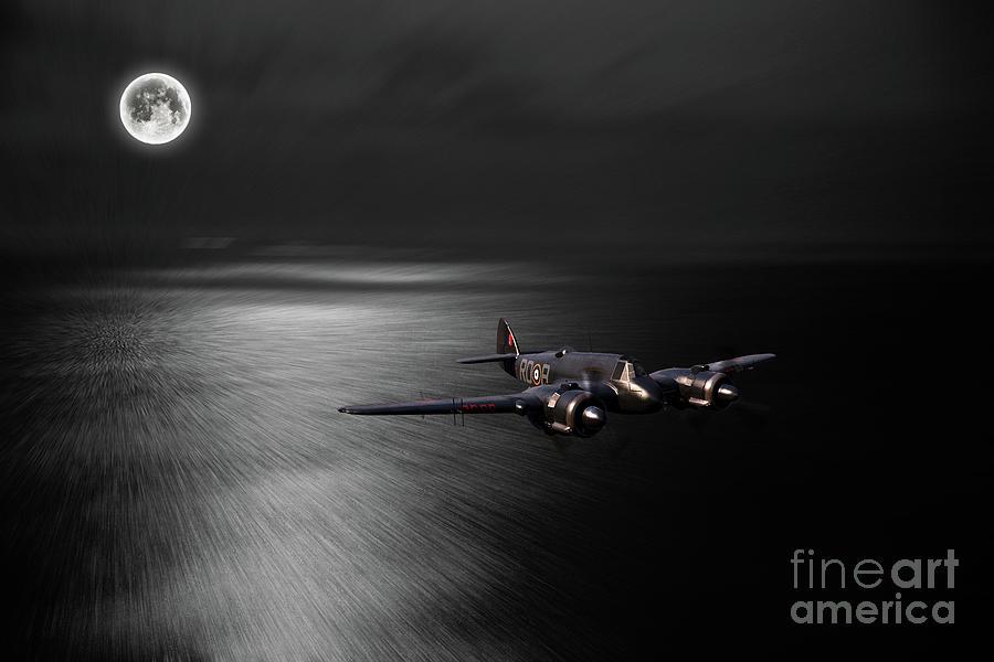 Beaufighter Digital Art - Dark Knight by J Biggadike