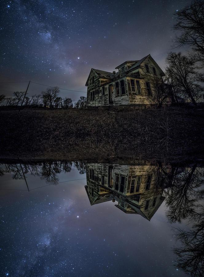 Sky Photograph - Dark Mirror by Aaron J Groen