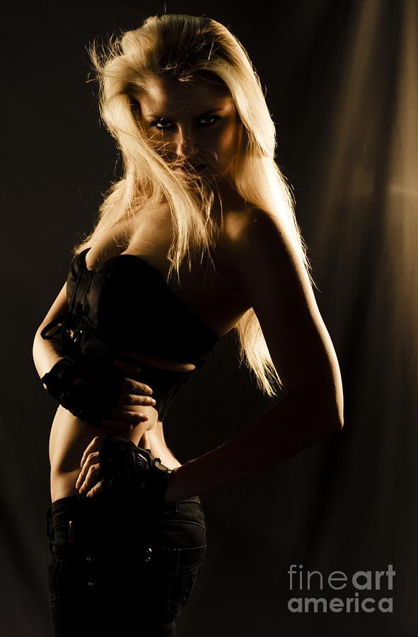 Adult Photograph - Dark Mysterious Dancer by Jorgo Photography - Wall Art Gallery