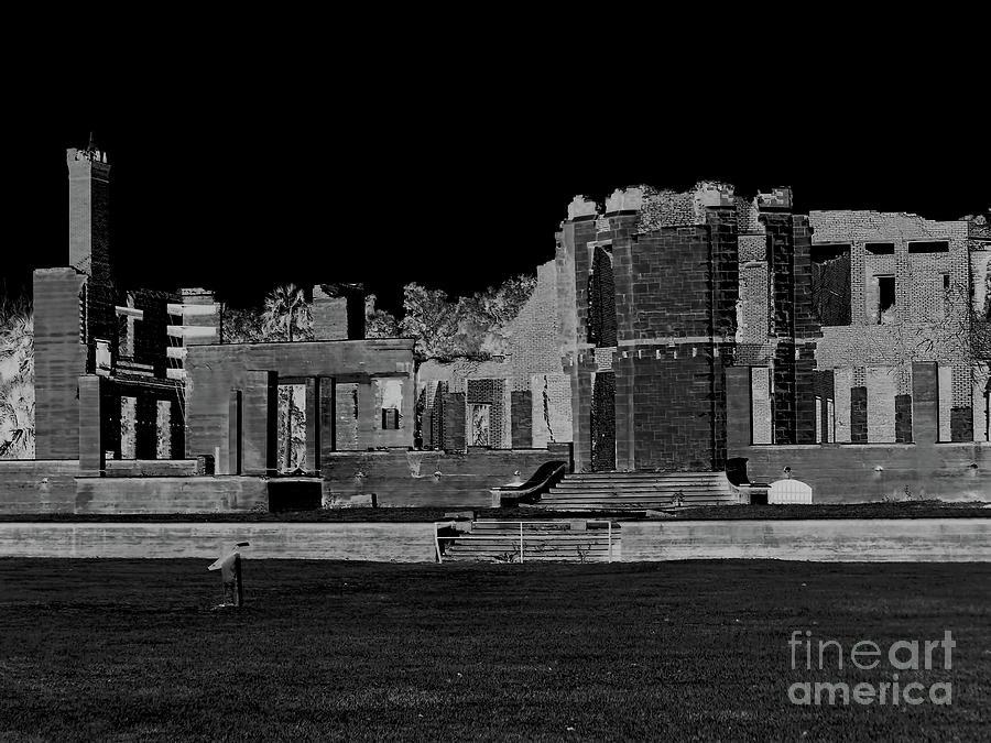 Dark Night At The Ruins by D Hackett