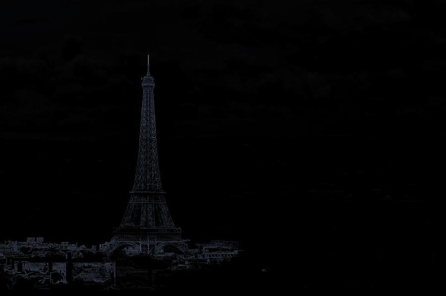 Abstract Photograph - Dark Paris by Rabiri Us