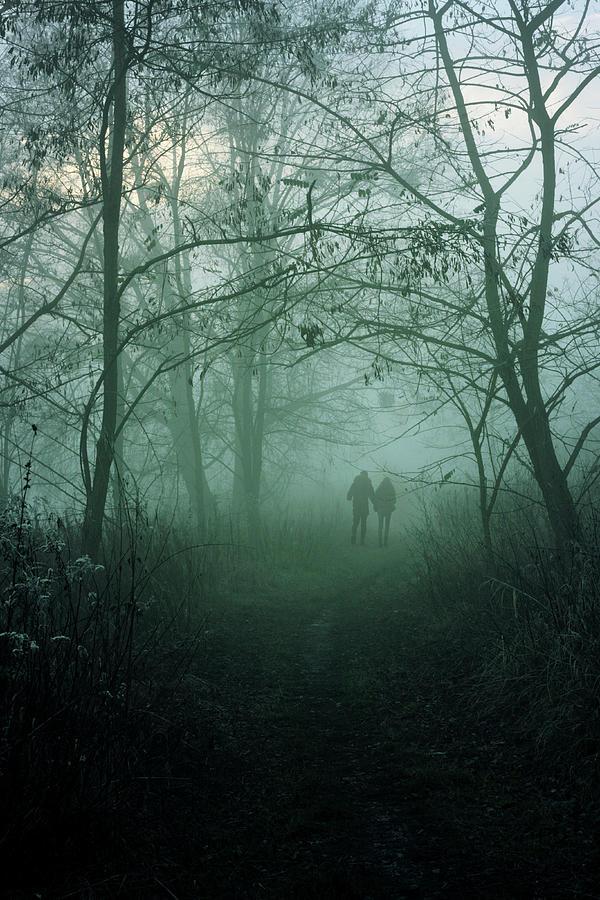 Dark Photograph - Dark Paths by Cambion Art