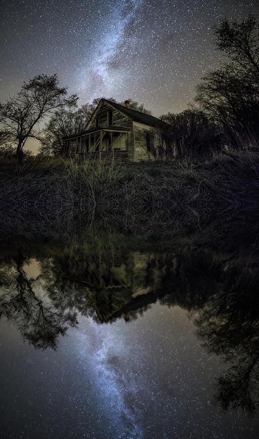 Dark Reflection Photograph by Aaron J Groen