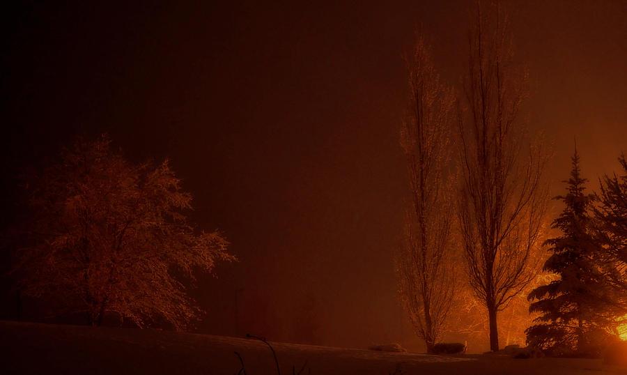 Dark Photograph - Dark Rising by Brian Fisher