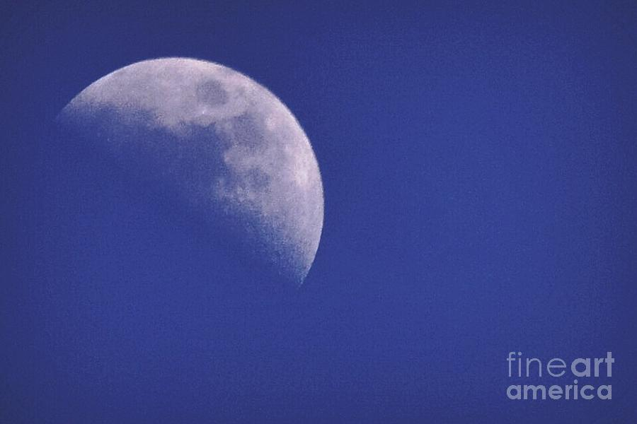Moon Photograph - Dark Side Of The Moon by Stephanie  Varner