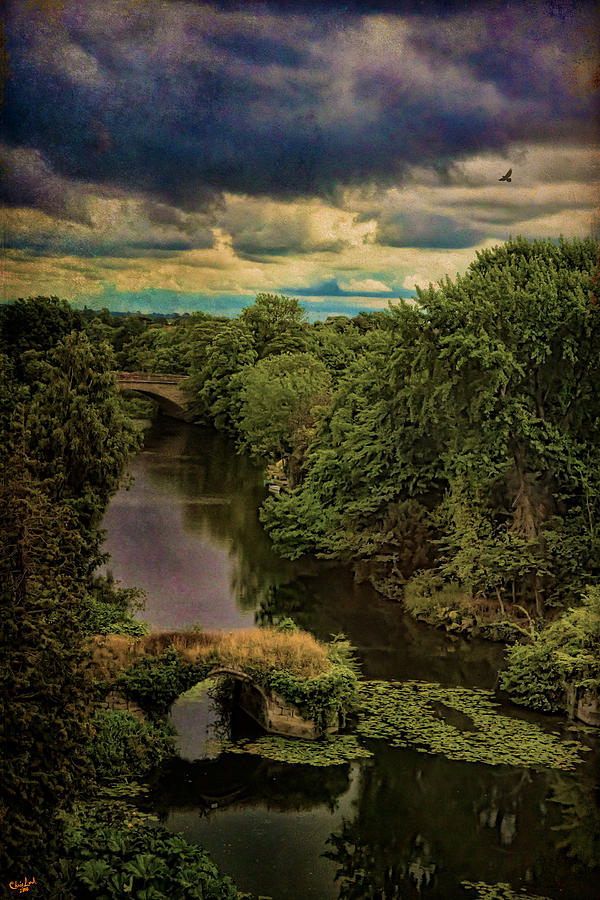Avon Photograph - Dark Skies Over The Avon by Chris Lord