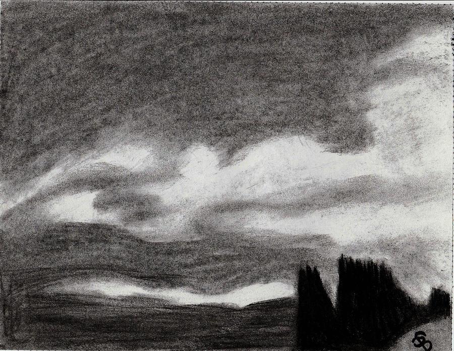 dark sky drawing by shania brown