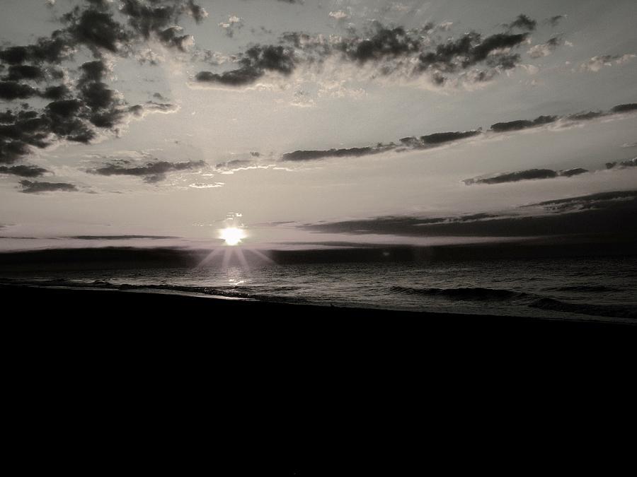 Sunrise Photograph - Dark Sunrise by Gregory Letts