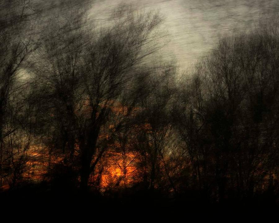 Dark Sunset by Gerald Grow