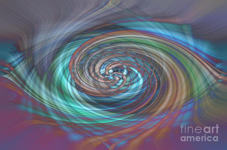 Dark Swirls by Wanda Krack