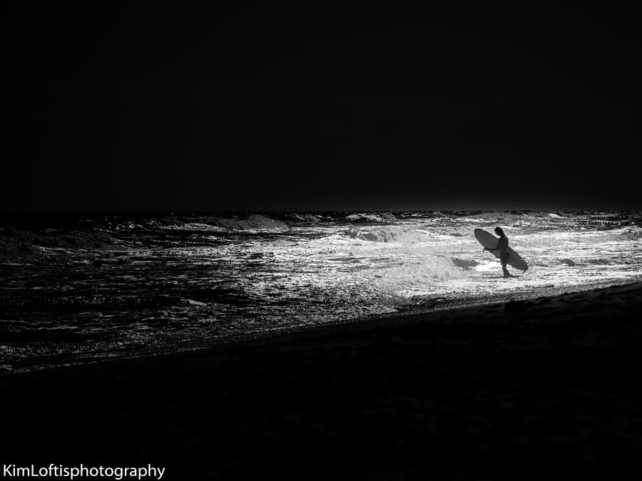 Beach Photograph - Darkest Hour  by Kim Loftis