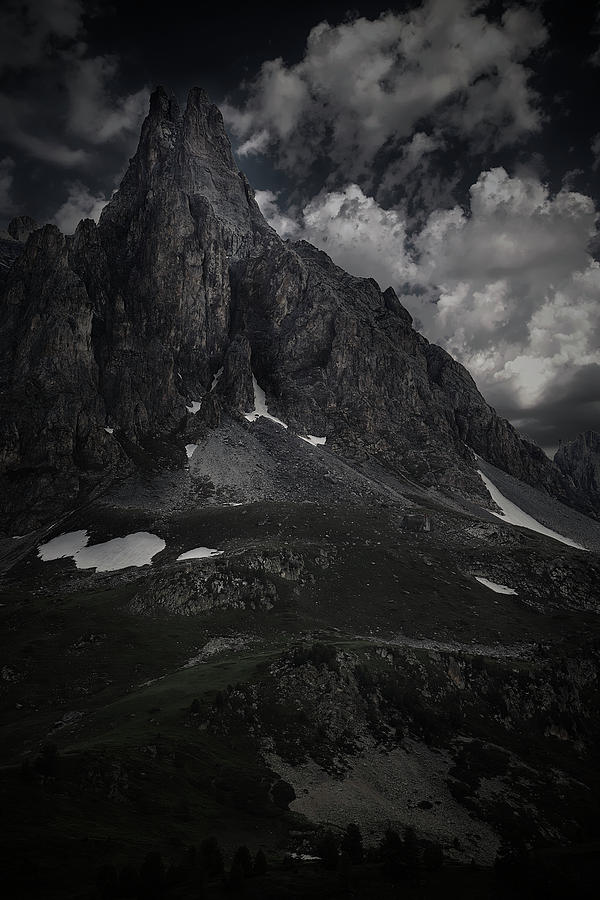 Courmayeur Photograph - Darkness Comes In Claree Valley by Jon Glaser