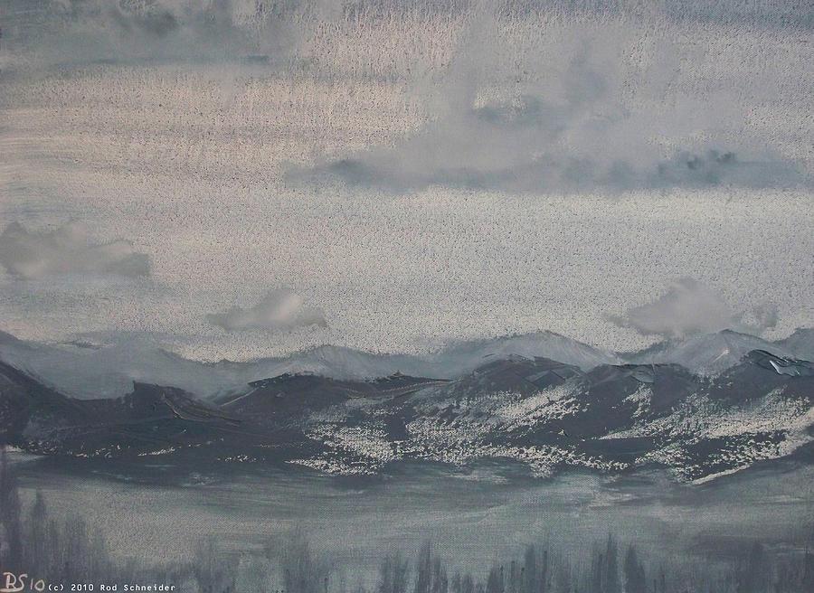 Surreal Painting - DarkWorld II by Rod Schneider