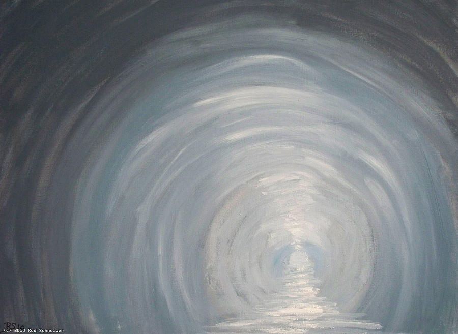 Surreal Painting - DarkWorld III by Rod Schneider