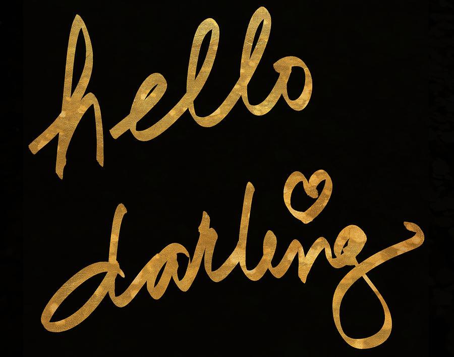 Darling Painting - Darling Bella I by South Social Studio
